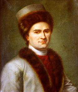 Retrato de Rousseau.